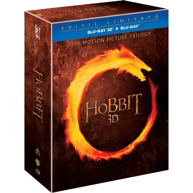 BD: THE HOBBIT TRILOGY 3D - TRILOGIA HOBITUL