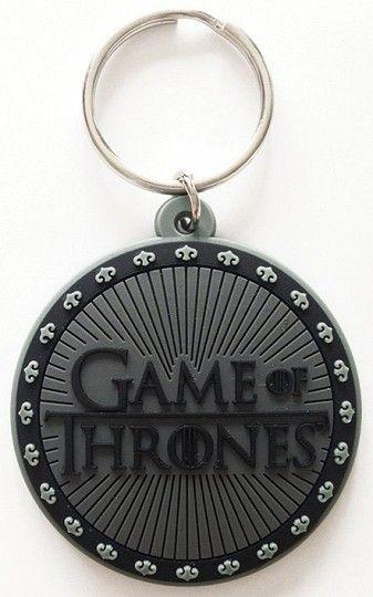 Game of Thrones Rubber Keychain Logo 6 cm