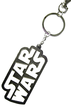 Star Wars Metal Keychain Logo
