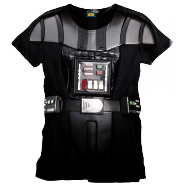 Star Wars T-Shirt Vader Costume Size S