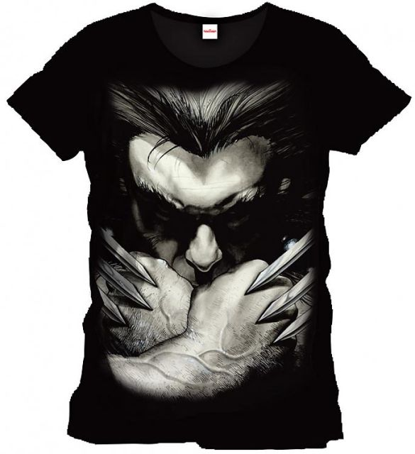 Marvel Comics T-Shirt Wolverine Ready To Fight Size XL