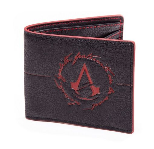 Assassin´s Creed Unity Wallet Bifold Red Logo