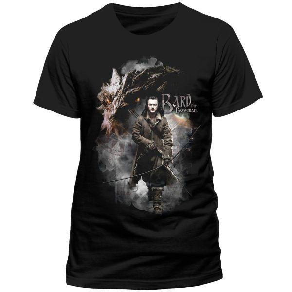 The Hobbit The Battle of the Five Armies T-Shirt Bard The Bowman Size L