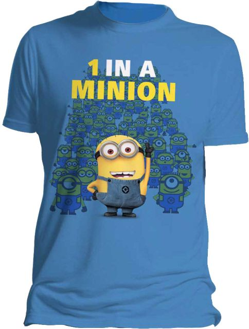 Despicable Me 2 T-Shirt One In A Minion Size S