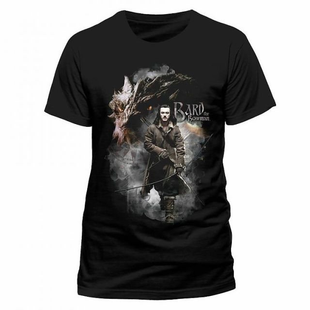 The Hobbit The Battle of the Five Armies T-Shirt Bard The Bowman Size XL
