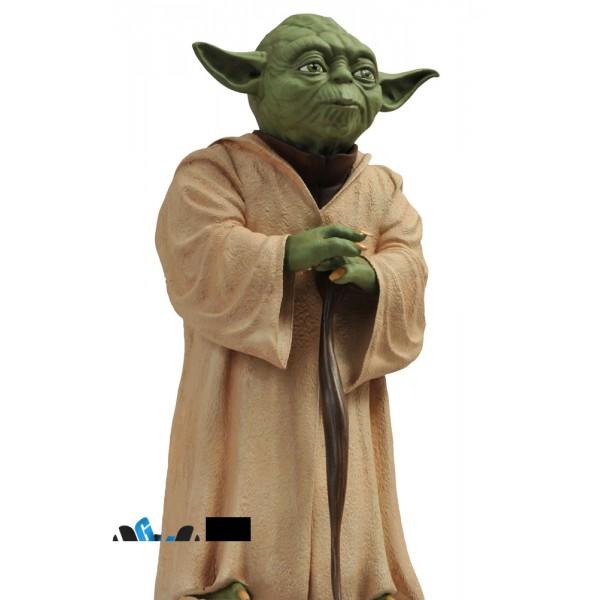 Star Wars Bust Bank 1/4 Yoda 23 cm