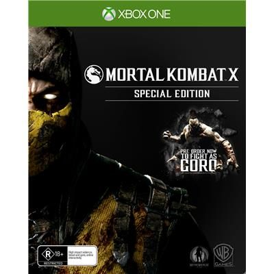 MORTAL KOMBAT X SPECIAL EDITION - XBOX ONE
