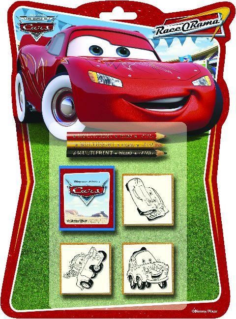 Trusa stampile,3b/set,Cars