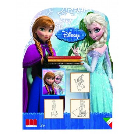 Trusa stampile,3b/set,Frozen