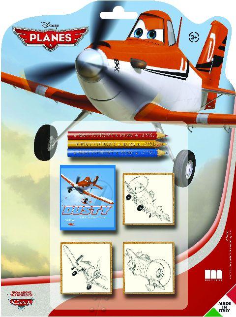 Trusa stampile,3b/set,Planes