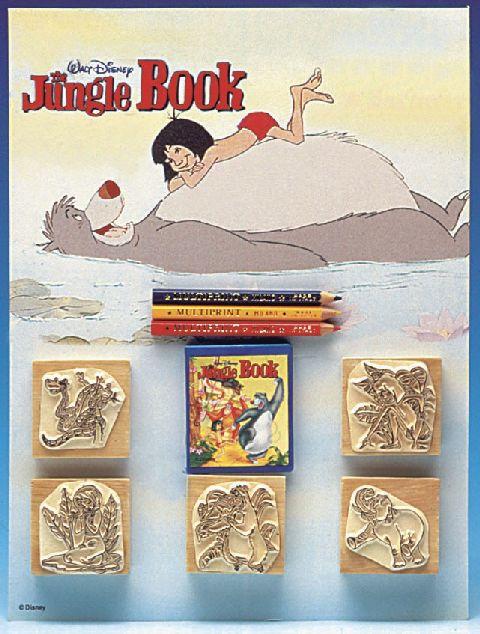Trusa stampile,5b/set,Cartea Junglei