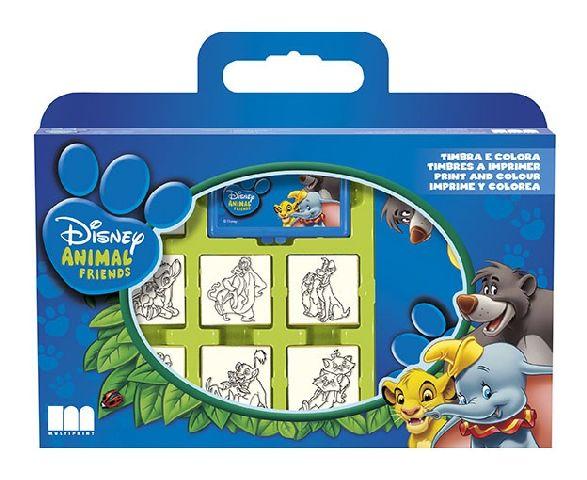 Trusa stampile,7b/set,Prietenii Disney