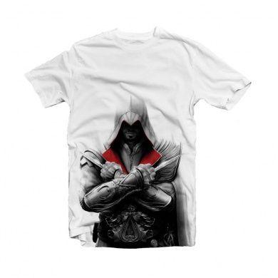 Assassins Creed T-Shirt Ezio II Size S