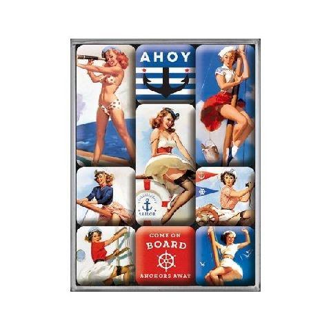 Set magneti 83076 Pin up-Ahoy