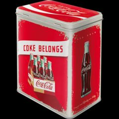 CUTIE METAL (L) 3D 30131 Coca-Cola Logo Red