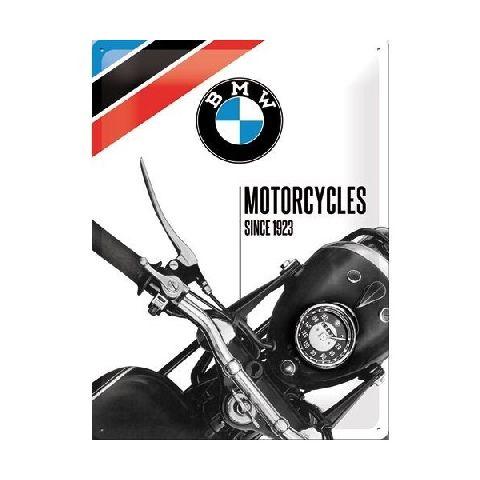Placa 30x40 23201 BMW - Motorcycles Since 1923