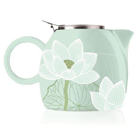 Ceainic ceramic PUGG - Lotus