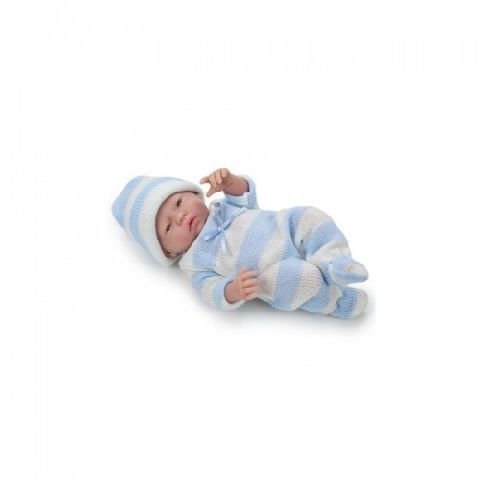 Papusa bebe,baiat,somnoros,24 cm,JC Toys