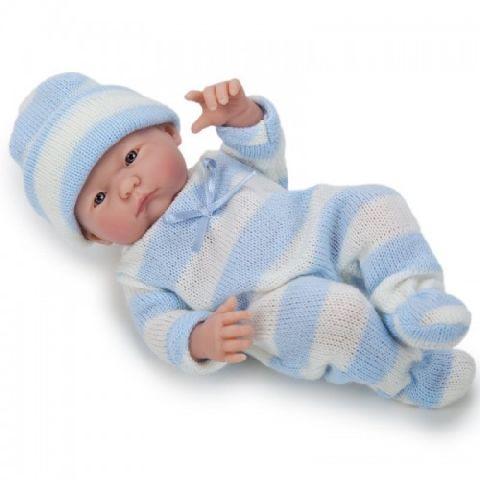 Papusa bebe,baiat,trist,24 cm,JC Toys