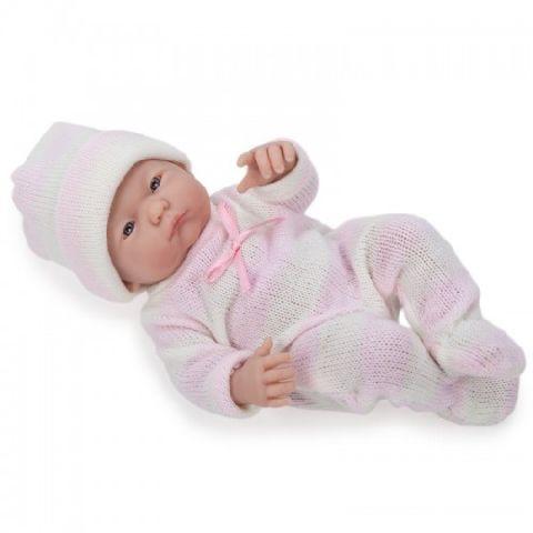 Papusa bebe,fata,trista,24 cm,JC Toys