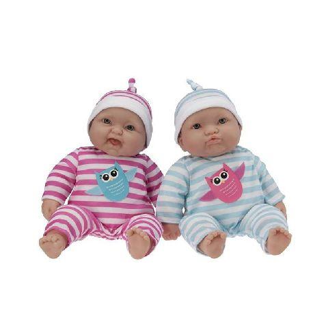 Papusa bebe,gemeni,51cm,JC Toys