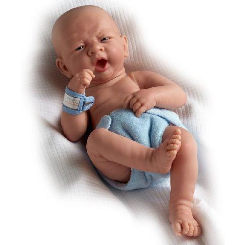 Papusa nou-nascut,baiat,ochi deschisi,36cm,JC Toys
