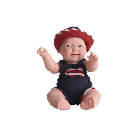 Papusa bebe,Lucas,costum vara,38cm,JC Toys
