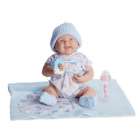 Papusa nou-nascut,baiat,jucarie/acces,39cm,JC Toys