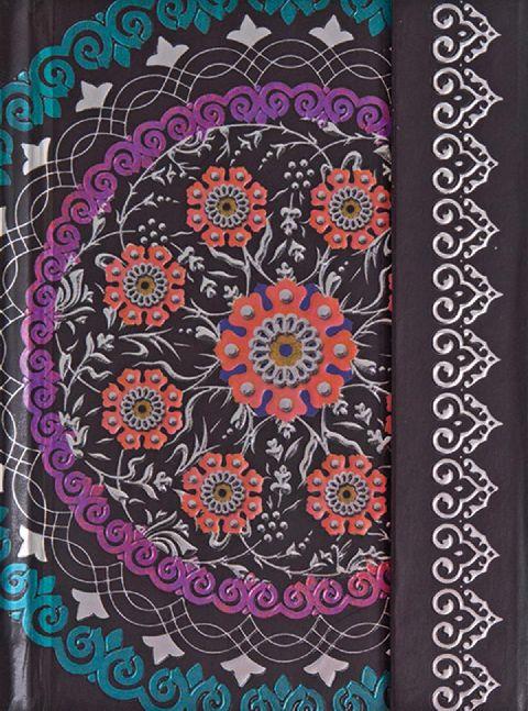 Agenda 10x14cm,Indostan,magnet,alb