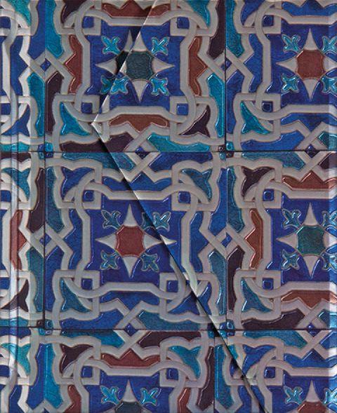 Agenda 10x12.5cm,Alfama,magnet,albastru