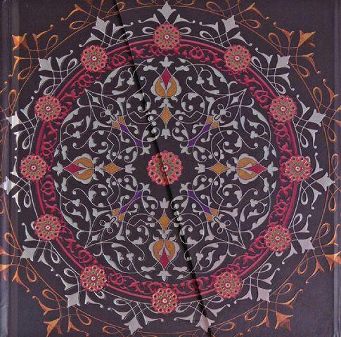 Agenda 16.5x16.5cm,Mandalas,magnet,maro
