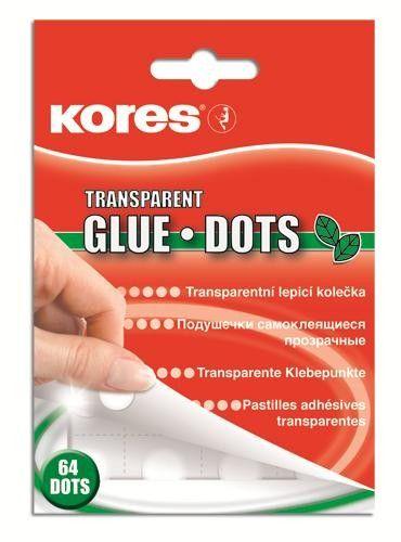 Pastile adezive Kores Glue Dots,64/s+50%