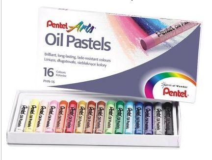 Creioane cerate,16set,Pentel Oil Pastels