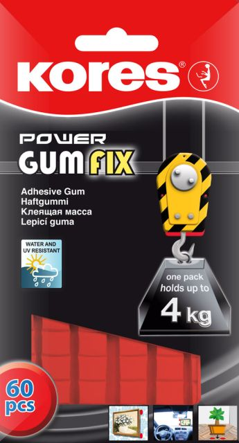 Guma autoadeziva Power Gumfix,35g,60/set