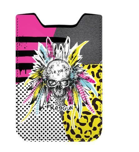 Husa telefon 8x13x1cm,Free Gun,Punk