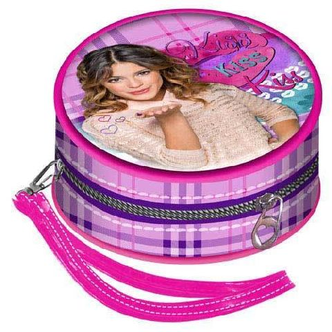 Portofel monede 9.5x9.5x5.5cm,Violetta Kiss