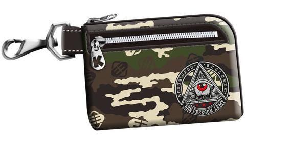 Portofel 12x8x1cm,Free Gun,Army