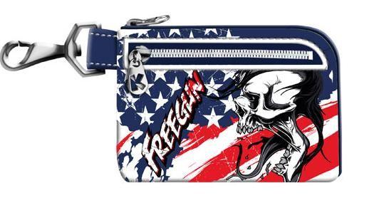 Portofel 12x8x1cm,Free Gun,America