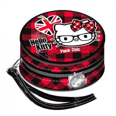 Portofel monede 9x9x5cm,Hello Kitty Vicky