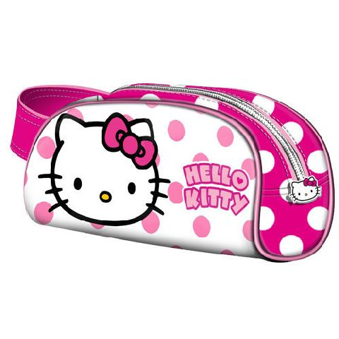 Geanta cosmetice 21.5x18x6cm,Hello Kitty Dots