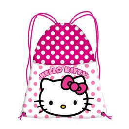Sac sport 26x35x1cm,Hello Kitty Dots