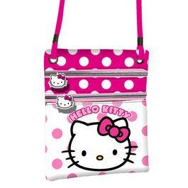 Portofel snur 21x17.5x1cm,Hello Kitty Dots