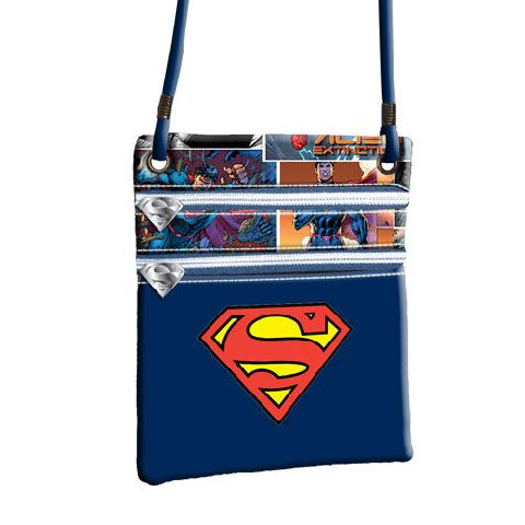 Portofel snur 17.5x21x1cm,Superman S