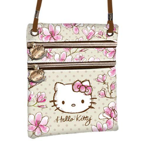 Portofel snur 14.5x17x1cm,Hello Kitty Mognolia