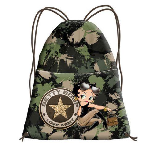 Sac sport 35x42x1cm,Betty Boop,Army