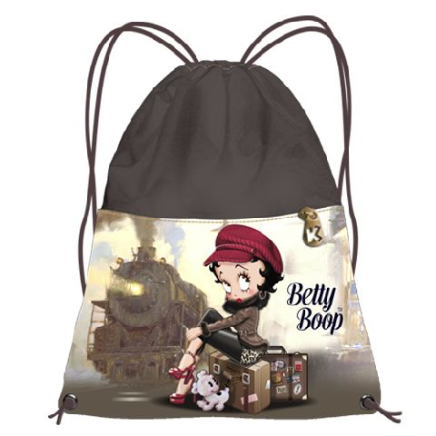 Sac sport 35x42x1cm,Betty Boop,Train