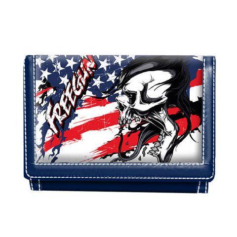 Portofel 12.5x9x2cm,Free Gun America