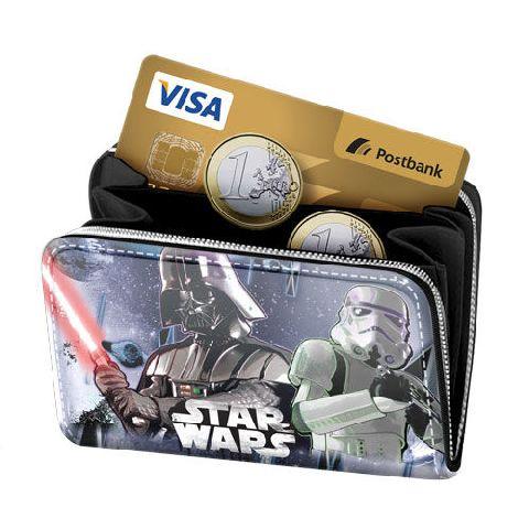 Portofel 12.5x8x2cm,StarWars Vader