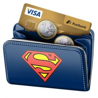 Portofel monede 12x11x1.5cm,Superman S
