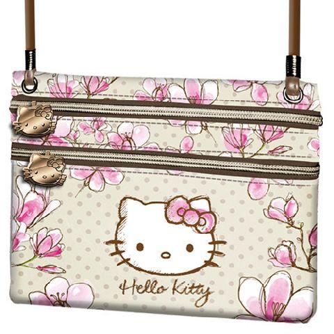 Portofel snur 17x14.5x1cm,Hello Kitty Mognolia
